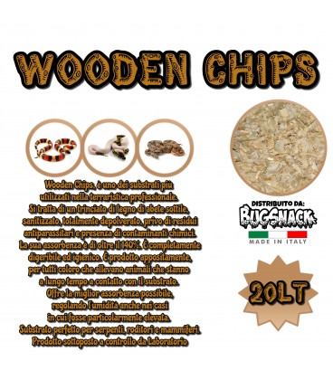Wooden Chips 20lt